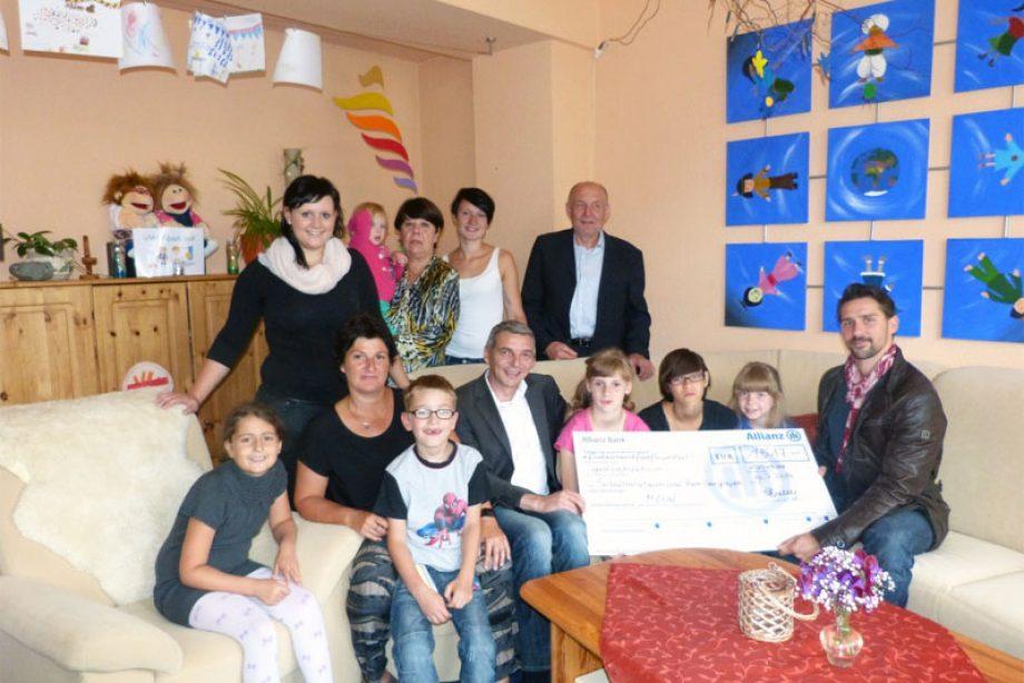 Neue Möbel für den Kinderhaus-Verein in Zwickau