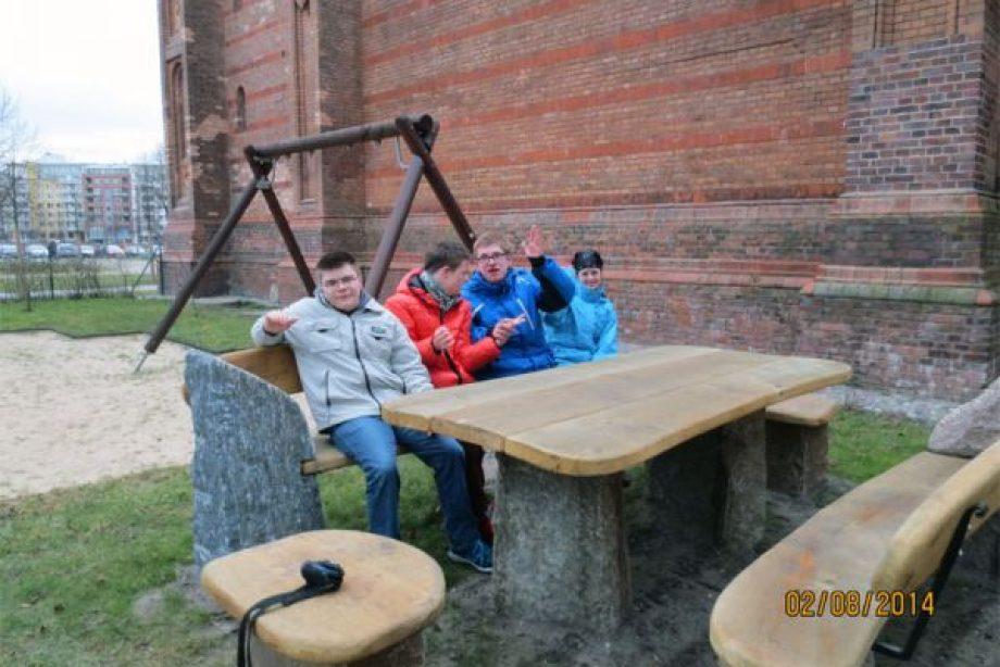 Außensitzgruppe für ein Heim der Caritas Berlin