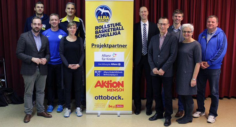 Auftaktturnier der neuen Rollstuhlbasketball-Schulliga in Berlin