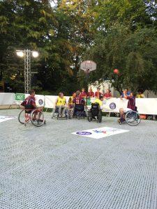 Mini-Turnier der Rollstuhlbasketball-Schulliga