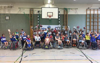 Jubiläumsturnier der Rollstuhlbasketball-Schulliga