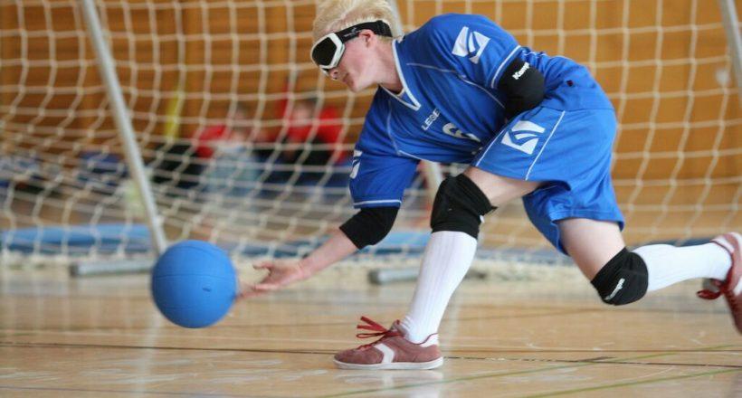 Handball? Fußball? Goalball!