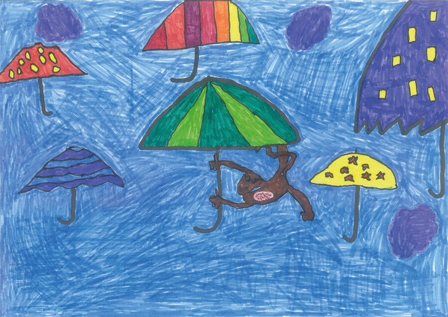 Regenschirmeaffe